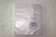 The Enesco Precious Moments Collectors Club Gift Registry Book 3 Ring Notebook
