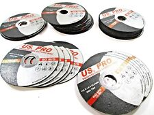 US Pro 50pk Professional 115 X 1.0 X 22.2mm Cutting Discs Stainless Steel 8151