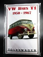 VW Bus T1 Bully Blechschild Metall Schild Auto 30 cm,Tin Sign