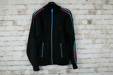 Fred Perry Black Track Jacket size L