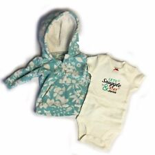 Adorable Baby girl Carter's Sweater Set Top, Size 3 months