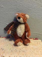 "Boyd's Bears & Friends J.B. Bean & Associates ""Reggie Foxworthy"" Plush Fox Nwt"