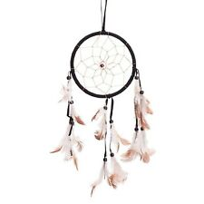 "15"" Traditional Black Dream Catcher with Feathers Wall or Car Hanging Ornamen..."