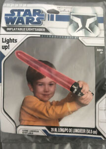Star Wars Inflatable Lightsaber *LIGHTS UP**