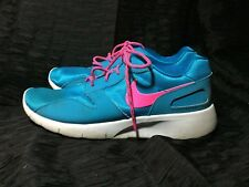 781f3fee15d69 Nike Girls Kaishi (GS) Running Shoes 705492 400 Blue Lagoon Pink Preowned Sz