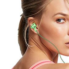 Audífonos Auricular con Cable Trenzado Micrófono Teléfono Móvil MP3 Manos Libres