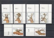 TIMBRE STAMP  6  BULGARIE Y&T#3095-100 CERF RENNE DAIM NEUF**/MNH-MINT 1987 ~A89
