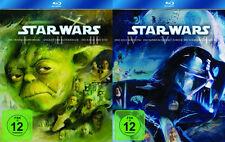 Krieg la estrella STAR WARS completo BLU-RAY CAJA Parte 1 2 3 4 5 6 I - VI NUEVO