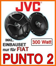 JVC Lautsprecher für Fiat Punto 2 (Typ 188) Tür vorne PKW KFZ Boxen Einbausatz