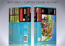 SUPER MARIO KART. PAL VERSION. Box/Case. Super Nintendo. BOX + COVER. (NO GAME).