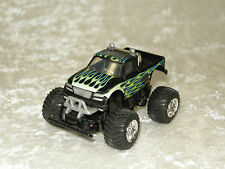 BAJA MONSTER TRUCK TOMY PLASTIC BATTERY OPERATED ON OFF SWITCH 2009 GREEN FLAMES