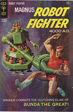MAGNUS, Robot Fighter 4000 AD no. 20 with art by Russ Manning