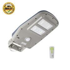 Waterproof Solar Power Street Light + Remote 1000 Lumen Motion Sensor Yard Lamp