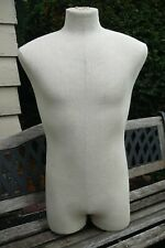MaleMannequin Torso for Military Uniform Display. Table top style. Cool!