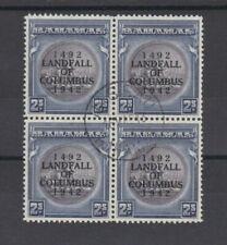 Used Bahamian Stamp Blocks