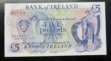 1977 Northern Ireland Five Pound Sterling Bank note P 62b