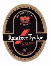 Poland - Beer Label - Browar Tychy - Ksiazece Tyskie