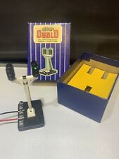 HORNBY DUBLO ES7 COLOUR LIGHT SIGNAL &BOX VINTAGE OO ELECTRICAL OPERATED WORKING