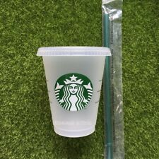 Starbucks 16oz Reuseable cold cup with Straw