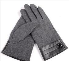 秋冬男士不倒絨加絨保暖手套