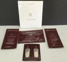 6 Piece set Kerastase CURL COMB w/Samples AURA BOTANICA Oil ++