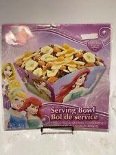 Party Serving Bowl DISNEY PRINCESSES Ariel Treats Supplies - NIP!
