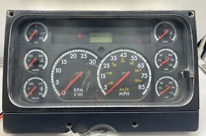 2005 FREIGHTLINER FS65 CHASSIS USED DASHBOARD INSTRUMENT CLUSTER FOR SALE (MPH)