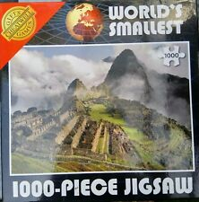 Cheatwell Jigsaw puzzle 1000 pieces WORLD'S SMALLEST.