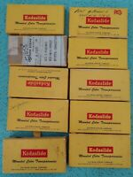 10 Vintage Kodak Slide Holders Cardboard from the 1950s