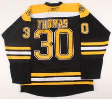 Tim Thomas Signed Boston Bruins Reebok Jersey (SGC CO) Playing career 1997–2014