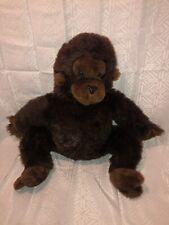 Euc-Htf-Vntg-18� 1979 R DaKin Chimp Monkey Chimpanzee Plush Stuffed Animal Brown