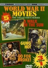 A Walk in the Sun, Gung Ho, Go For Broke - 3 Film Feature - New