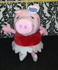 (1) Fiesta Toy Plush - Peppa Pig TV Show - Ballerina Peppa Stuffed Toy - 2017