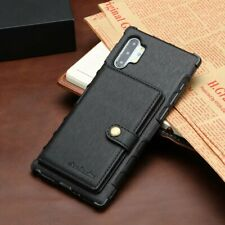 For Samsung Galaxy NOTE 10 Plus 9 8 Leather Wallet Case Card Slot Armor Cover