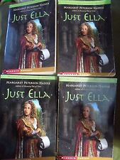 Just Ella by Margaret Peterson Haddix Teacher/Class Set LOT of 4 Copies