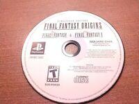 Sony PlayStation 1 PS1 PSOne Disc Only Final Fantasy Origins Final Fantasy 1& 2