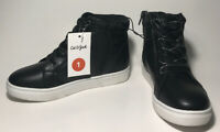 Cat And Jack Size 1 Womans Black Meagan Zip Up Sparkely High Top Shoes Zipper