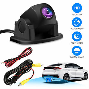 170° HD CMOS Car Backup Front/Side/Rear View Camera Parking Reverse Night Vision