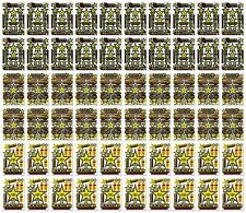 60 Motocross Graphic Kits Vinyl Decals Rockstar Energy Sticker Sheet Helmet Bike