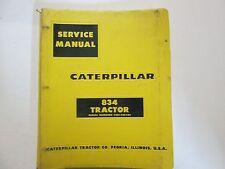Caterpillar 834 Tractor 43E1-43E422 Service Shop Repair Manual BINDER OEM CAT