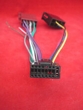JVC 16 Pin Iso KD R range Wiring Harness SameDayPost Cable Lead Loom KDR CD Car