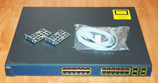 Cisco WS-C3560G-24PS-S w Rack Kit  ***1 Port Dead*** Tested 6MthWty TaxInv