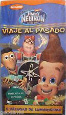 Viaje Al Pasado (Time Warp) Jimmy Neutron VHS Dubbed Spanish New Sealed 2003