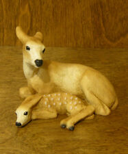 Animal Figurines by Castagna #030 DOE & FAWN, From Retail Store, NEW/Box