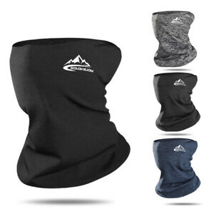 Winter Thermal Neck Tube Warmer Ski Mask Scarf Windproof Face Cover Shield Snood