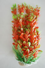 Aquarium Plants Approx 50 cms High Red & Green Suitable for all Aquariums