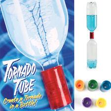 1x Tornado Vortex Bottle Water Connector Science Cyclone Tube Experiment Sensor