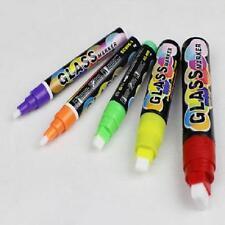 8 X 15mm Liquid Chalk Splashback Marker For LED Writing Board Glass Window Pen