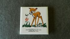 Vintage Walt Disney Bambi Advertising Tile Case & Oliver Tractor Sales Oregon