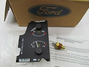 NEW 1991-92 Ford Ranger Explorer Mazda B2300 Water Temp Volt Gauge F67Z-10883-BA